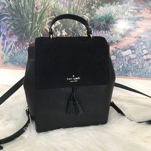 Kate spade black Hayes backpack
